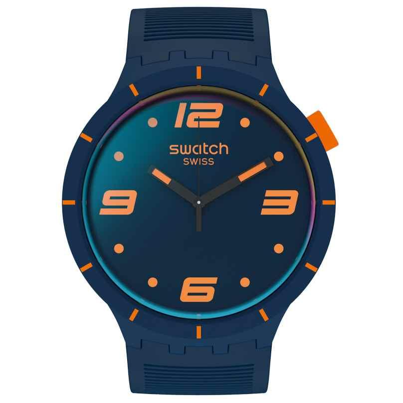 Swatch SO27N110 Herrenuhr Big Bold Futuristic Blue 7610522834040