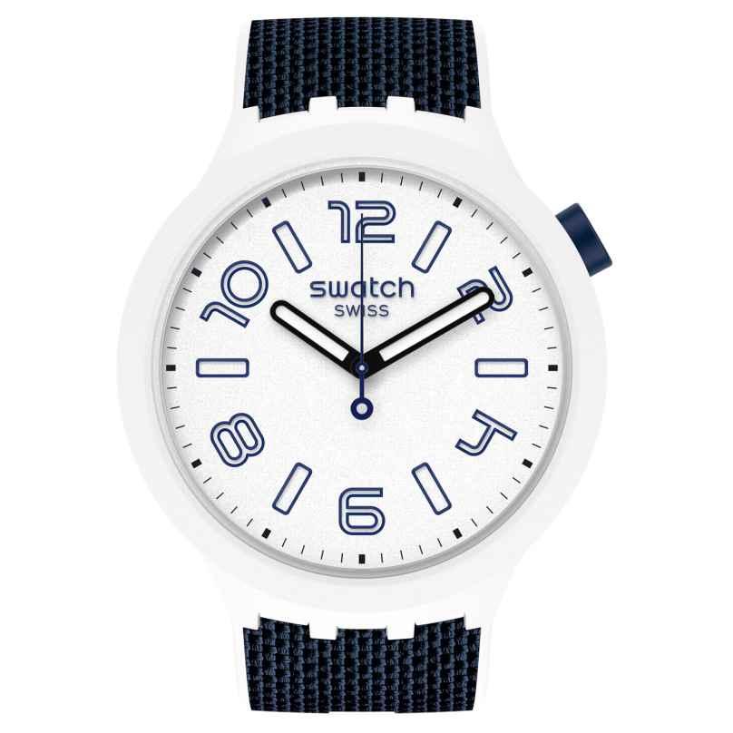 Swatch SO27W102 Big Bold Unisex-Uhr Deep Snow 7610522830615