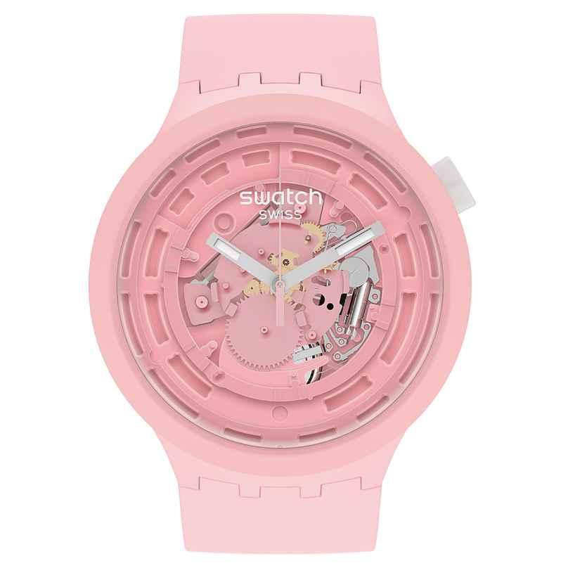 Swatch SB03P100 Big Bold Damenuhr C-Pink 7610522838406