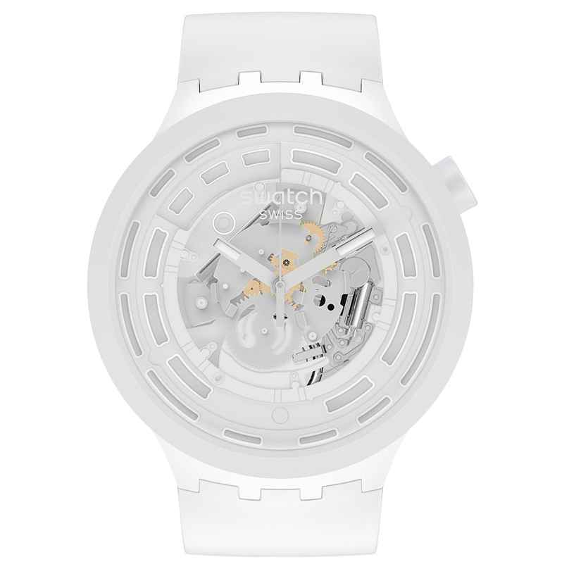 Swatch SB03W100 Big Bold Armbanduhr C-White 7610522838413