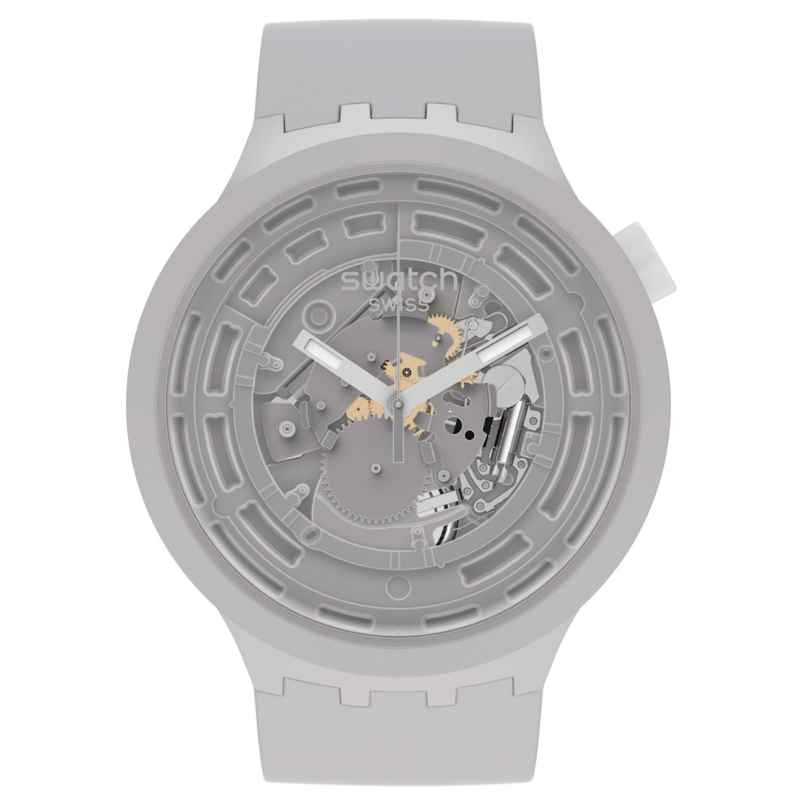Swatch SB03M100 Big Bold Armbanduhr C-Grey 7610522838383