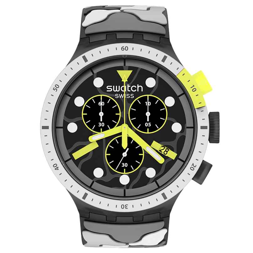 Swatch SB02M400 Big Bold Herrenuhr Chrono Escapeartic 7610522837713