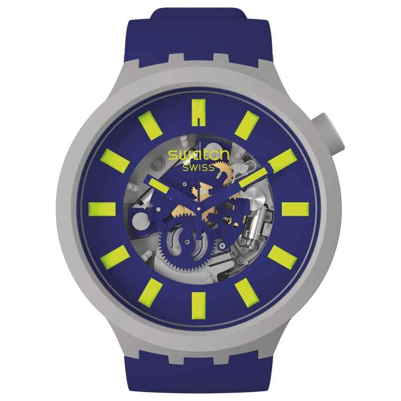 Swatch SB03M103 Big Bold Ceramic Armbanduhr Limy 7610522840058