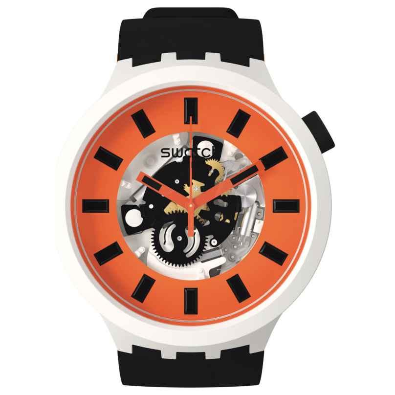 Swatch SB03M104 Big Bold Ceramic Armbanduhr Orack 7610522840065