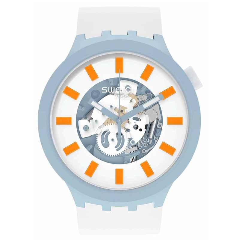 Swatch SB03N101 Big Bold Ceramic Damenuhr Blite 7610522840089