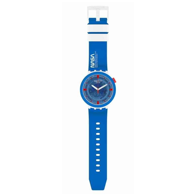 Swatch SB03Z100 Big Bold Ceramic Armbanduhr Jumpsuit 7610522840225