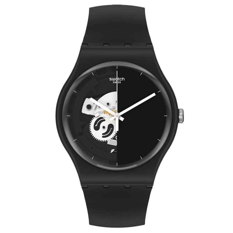Swatch SO32B107 Herrenarmbanduhr Live Time Black 7610522842120