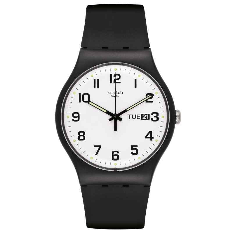 Swatch SUOB705 Twice Again Armbanduhr 7610522633926