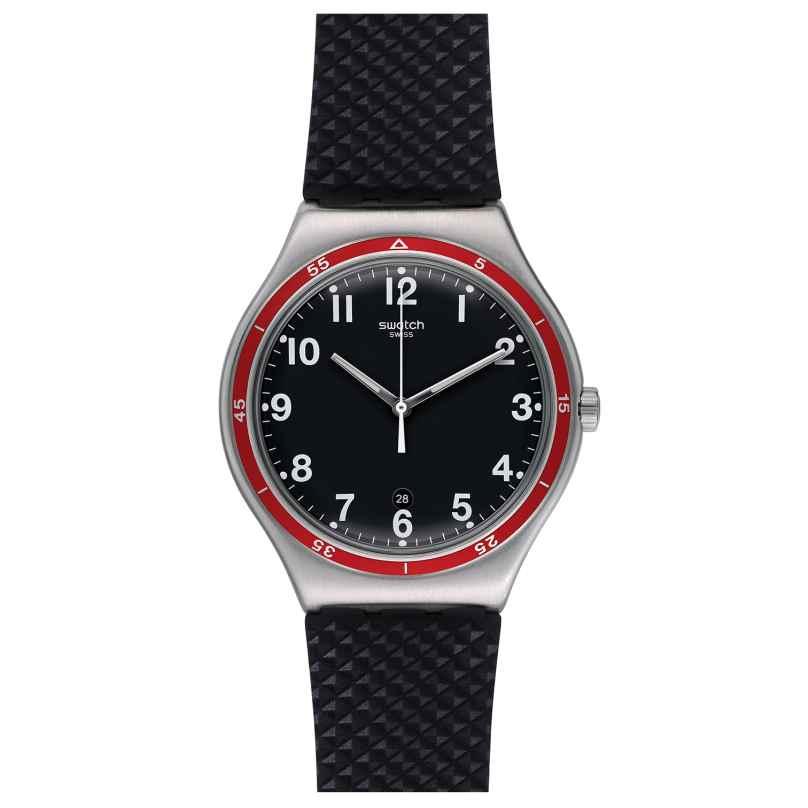 Swatch YWS417 Red Wheel Herrenuhr 7610522288416