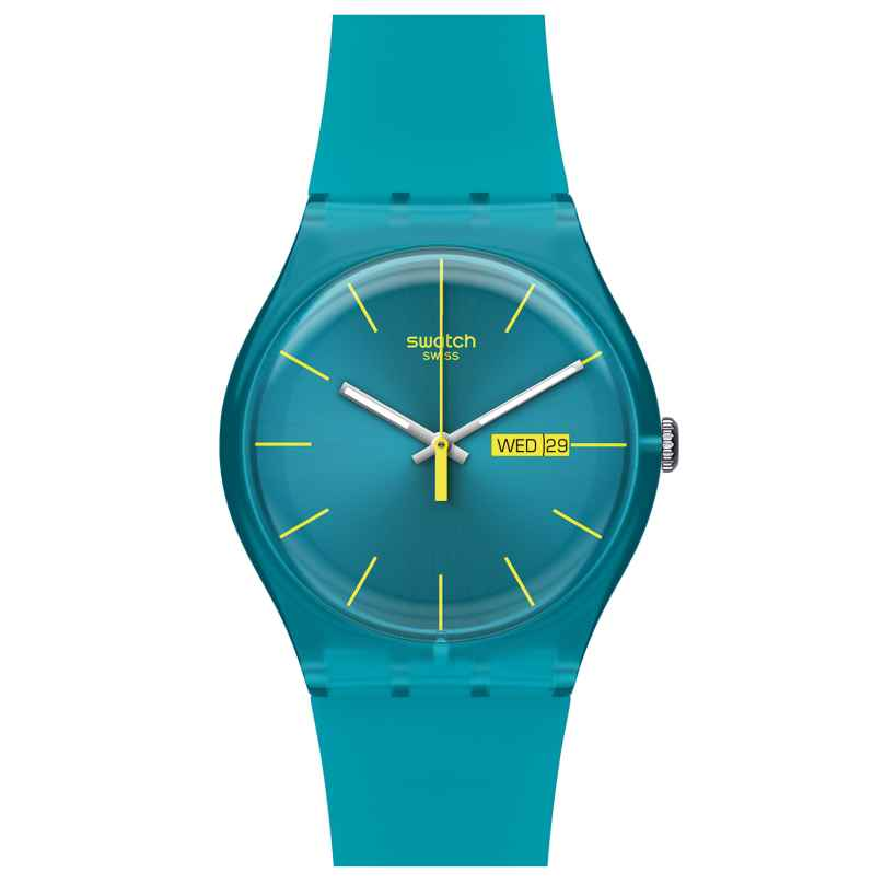 Swatch SUOL700 Turquoise Rebel Ladies watch 7610522253766