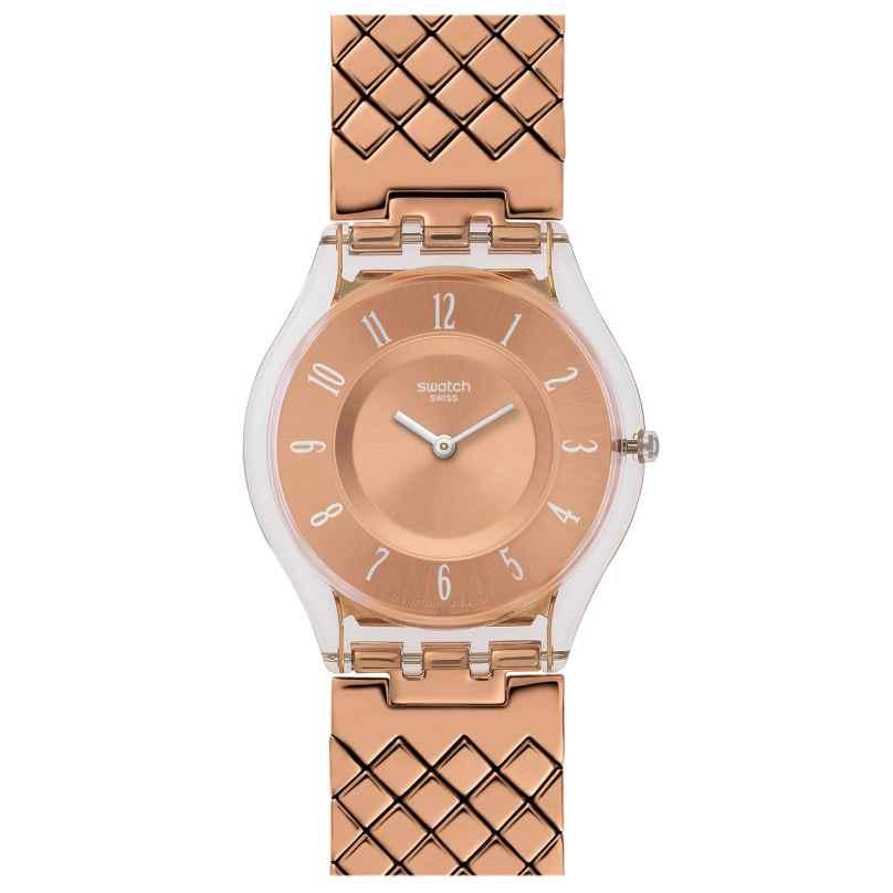 Swatch SFE110GA Pink Cushion L Damenarmbanduhr 7610522746534