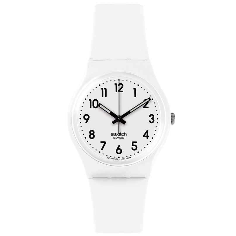 Swatch GW151O Just White Soft Watch 7610522692329
