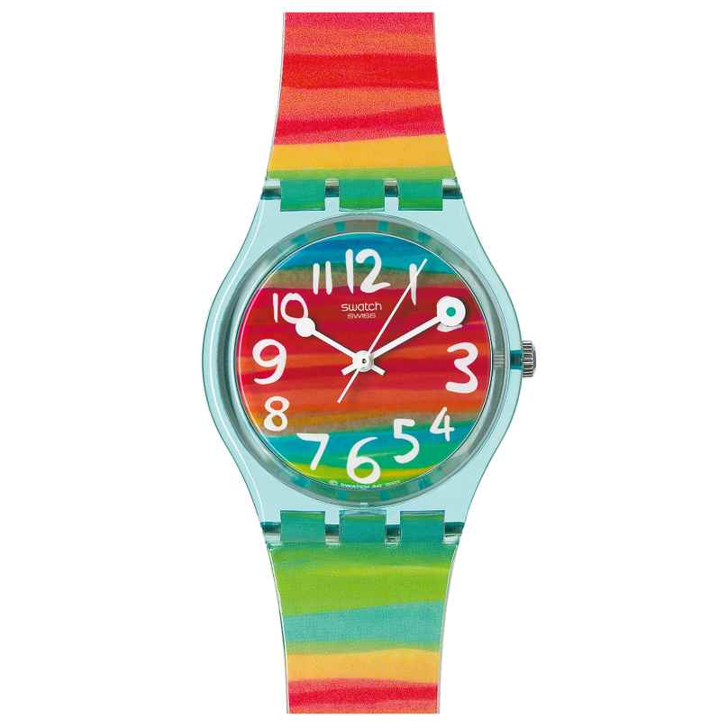 Swatch GS124 Color The Sky Ladies Watch 7610522247390