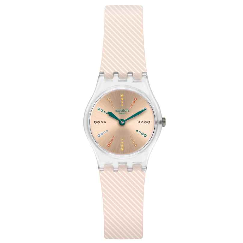 Swatch LK372 Damenuhr Quadretten 7610522763364