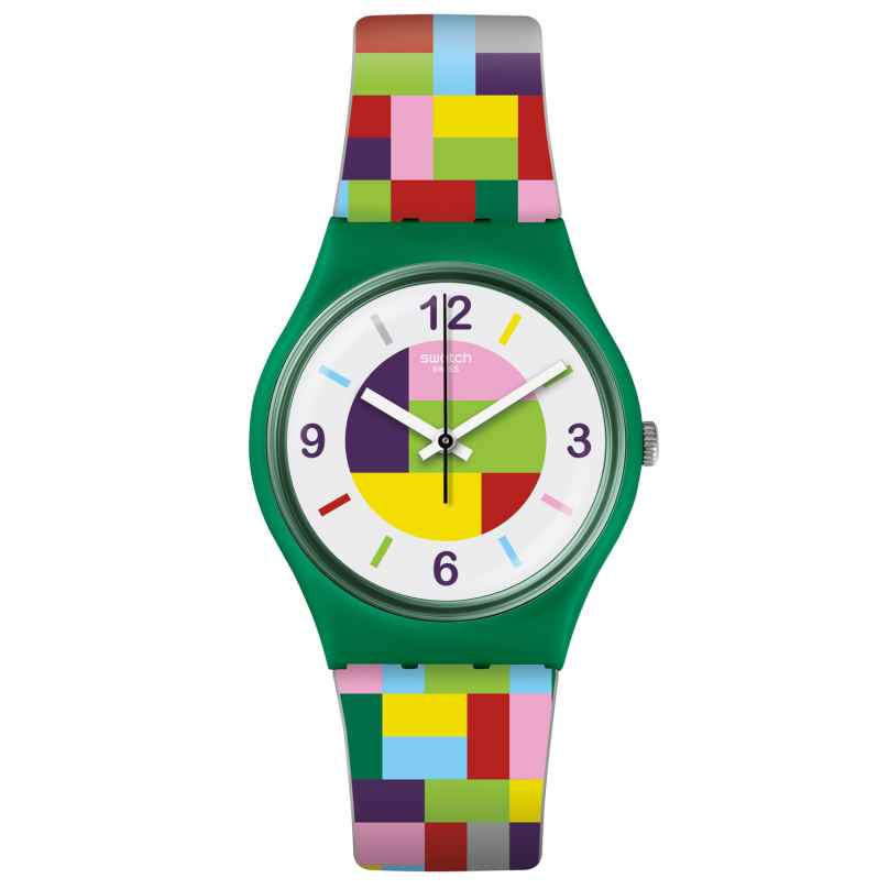 Swatch GG224 Ladies Watch Tet-Wrist 7610522767423