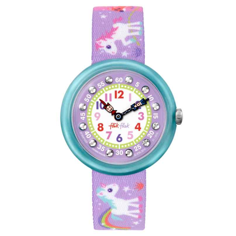 Flik Flak FBNP033 Magical Unicorns Girls Watch 7610522532458