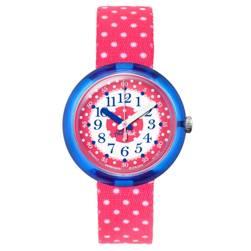 Flik Flak FPNP012 Pink Crumble Kids Watch 7610522534636