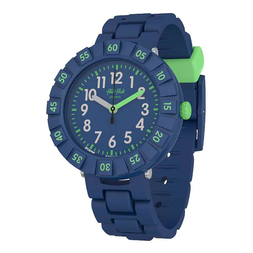 Flik Flak FCSP086 Children's Watch Solo Dark Blue 7610522795778