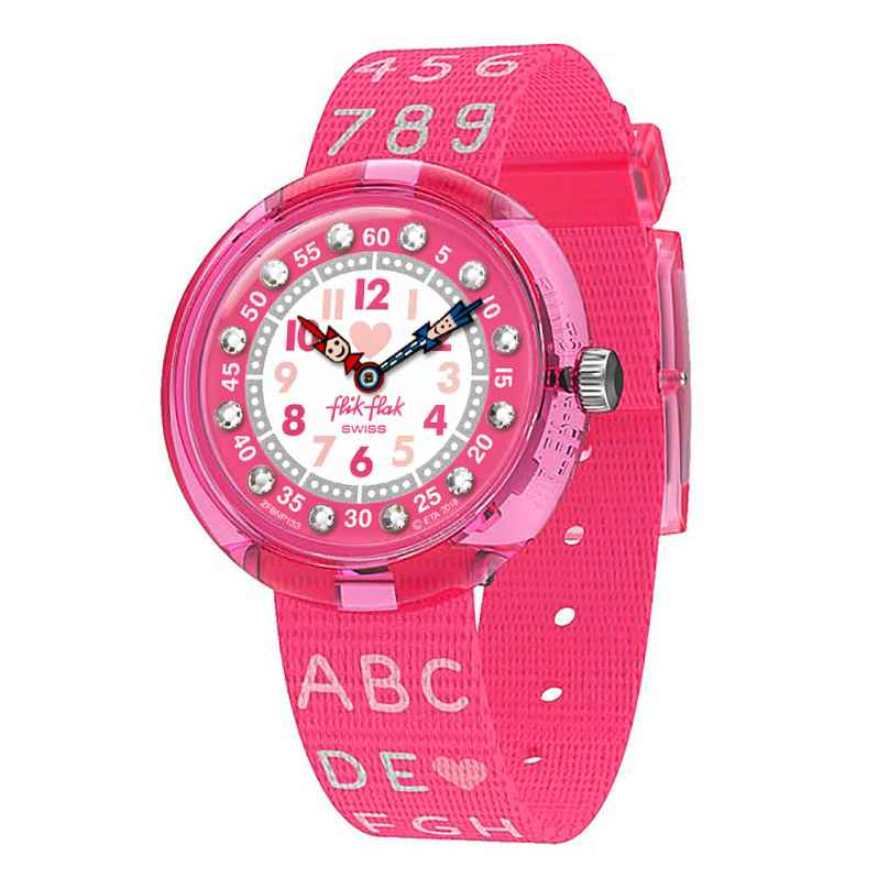 Flik Flak FBNP133 Mädchen-Armbanduhr Pink AB34 7610522807464