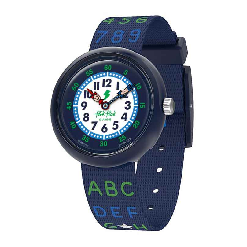 Flik Flak FBNP132 Jungen-Armbanduhr Blue AB34 7610522807457