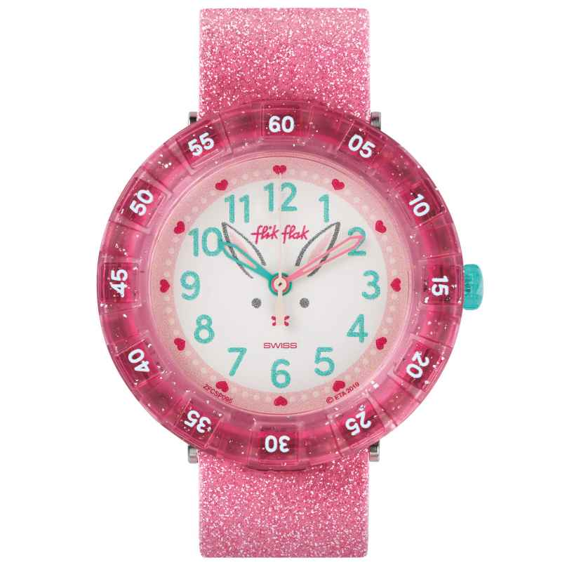 Flik Flak FCSP095 Kids Watch Bunnyaxus 7610522817456