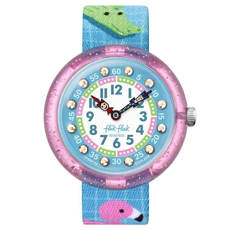 Flik Flak FBNP154 Mädchen-Uhr Splashtastic 7610522819726