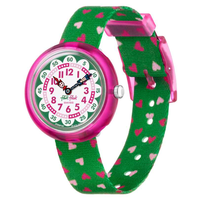 Flik Flak FBNP161 Children's Watch for Girls Heartistic 7610522825536