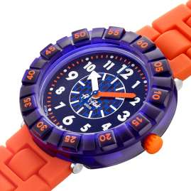 Flik Flak FCSP103 Children's Watch Orangebrick