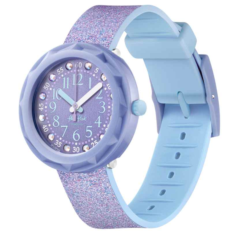 Flik Flak FCSP102 Kinderuhr für Mädchen Lilaxus 7610522827097
