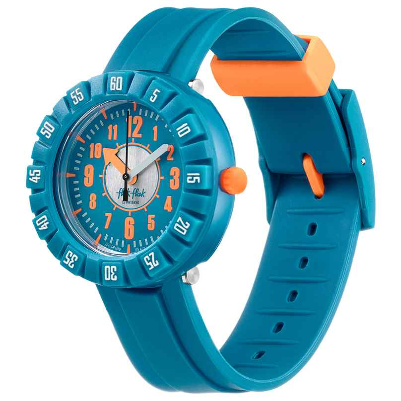 Flik Flak FCSP099 Kinder-Armbanduhr Teal my Mind 7610522826564