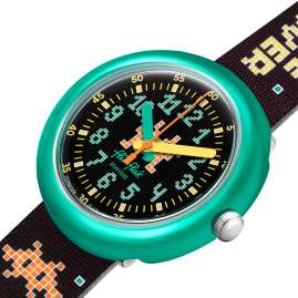 Flik Flak FPNP069 Time Invader Children's Wristwatch