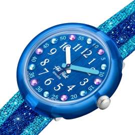 Flik Flak FPNP103 Children's Watch Shine In Blue