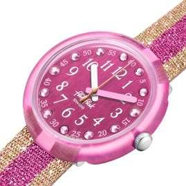 Flik Flak FPNP105 Kinder-Armbanduhr Shine In Pink