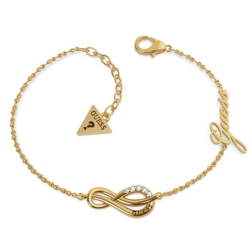 Guess UBB20092-S Damen-Armband Eternal Love Edelstahl vergoldet 7621097985679