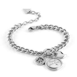 Guess JUBB70047JW Armband für Damen Trust Your Heart