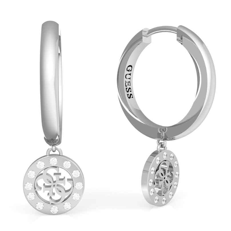 Guess JUBE79042JW Damen-Ohrhänger Ohrringe Charms & Crystals 7618584763605