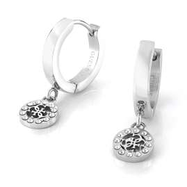 Guess JUBE79042JW Ladies' Drop Earrings Charms & Crystals