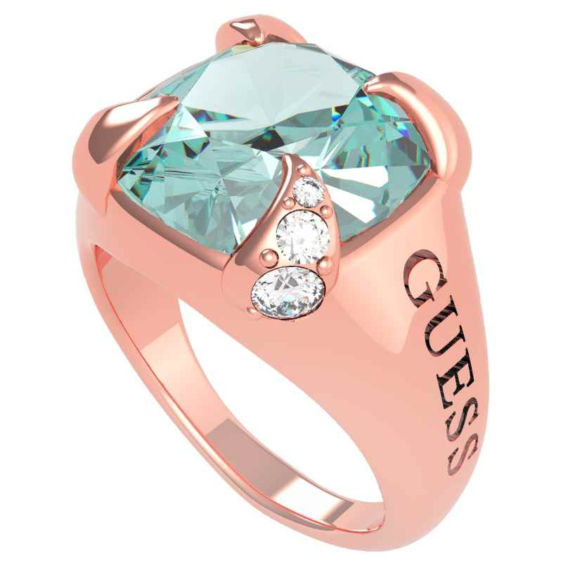 Guess UBR20029 Damen-Ring Edelstahl roségold Lady Luxe