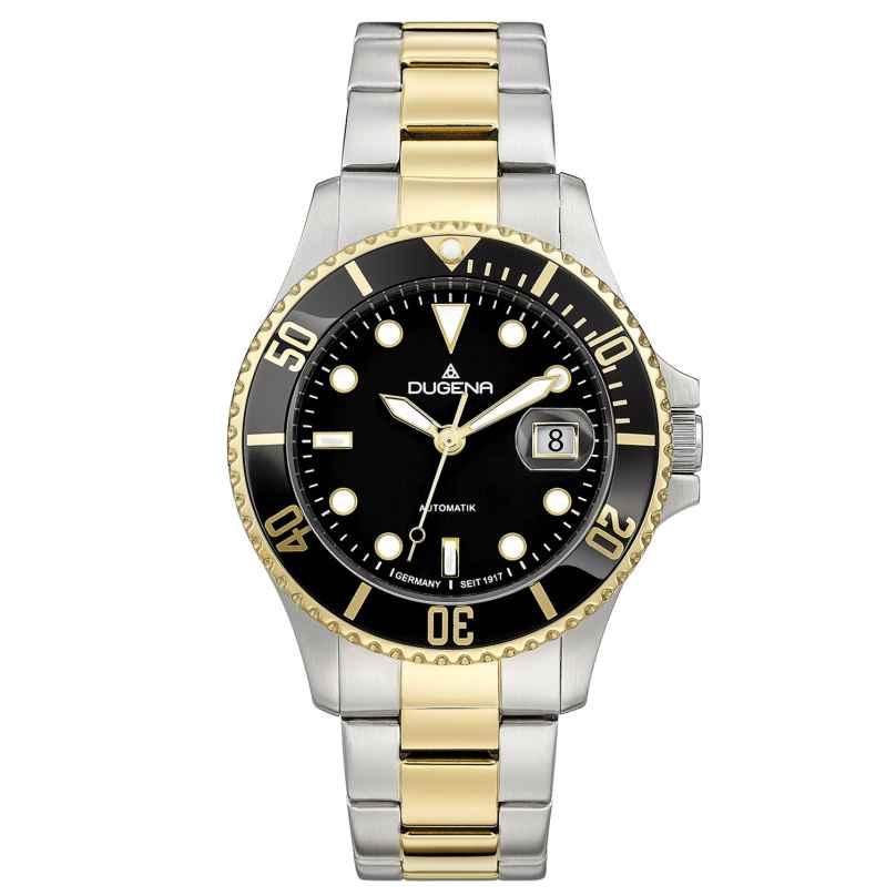 Dugena 4460776 Diver Automatik Taucheruhr für Herren 4250645008961