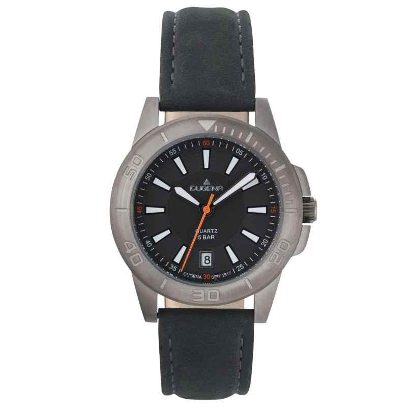 Dugena 4461060 Armbanduhr in Unisexgröße Keno Anthrazit 4050645025346