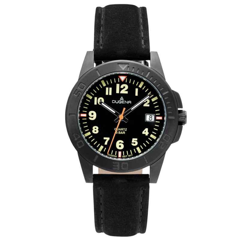 Dugena 4461061 Unisex Armbanduhr Keno Schwarz 4050645025353