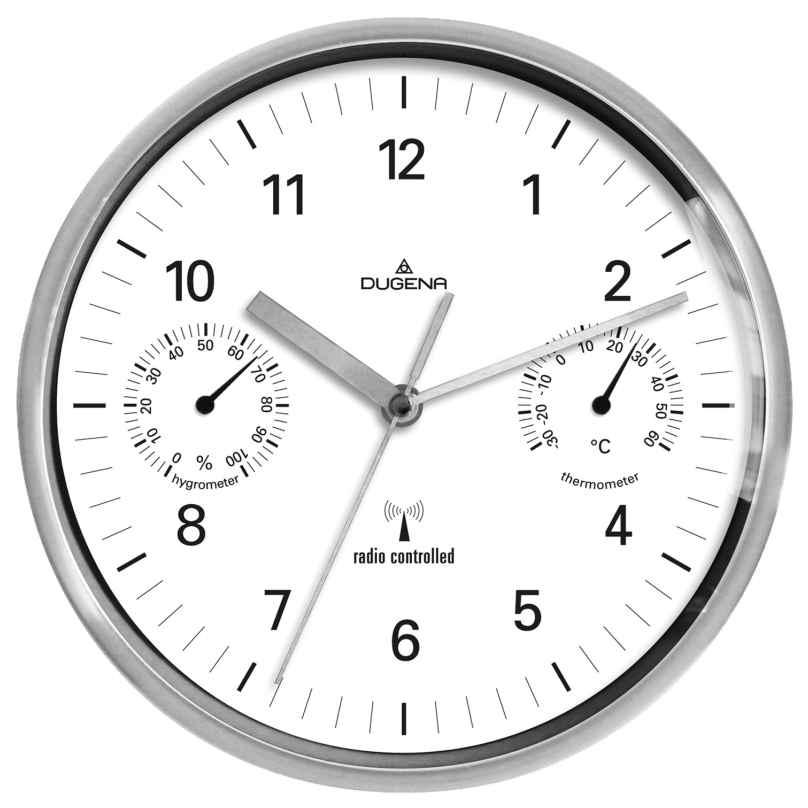 Dugena 4277392 RC Wall Clock 4060753000005