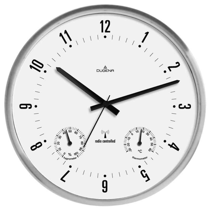 Dugena 4277430 RC Wall Clock 4060753000036