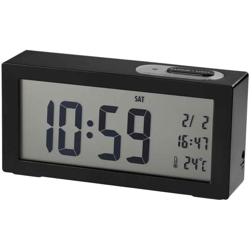 Dugena 4460965 Digital Alarm Clock Black 4060753000883