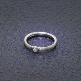 trendor 88315 Diamant-Ring für Frauen 925 Silber