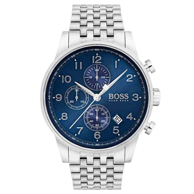 Boss 1513498 Chronograph Herrenuhr Navigator 7613272234351
