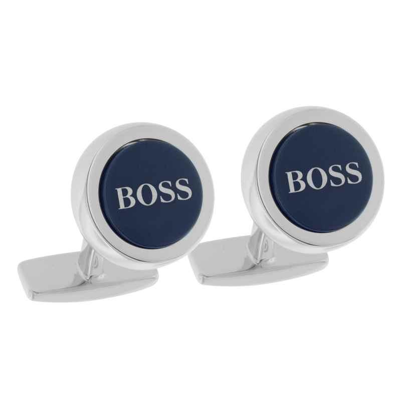 Boss 50412385 Manschettenknöpfe Smith Blau 4029052143905