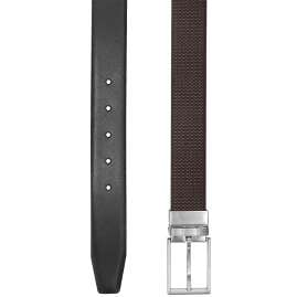Boss 50424653 Men's Reversible Belt Giole Black/Dark Brown