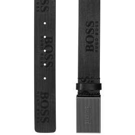 Boss 50419412-001 Herren-Gürtel Icon-Sr_Sz40 Schwarz