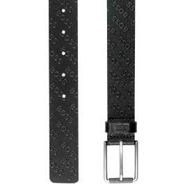 Boss 50461671-001 Men's Belt Tint Black Leather